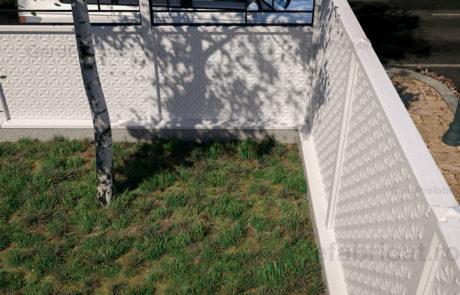 Streasina soclu pentru gard prefabricat din beton - K01 Cover